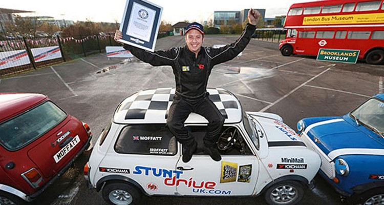 Guinness World Record Parcheggio Mottaff